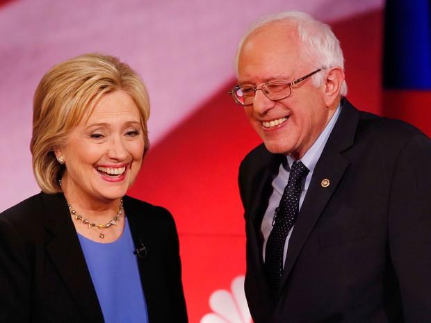 Bernie Sanders disputa com Hillary Clinton a nomeação do Partido Democrata para a corrida presidencial (Foto: AP Photo/Mic Smith)