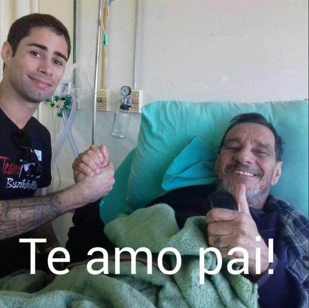 Rafael Pizziali e Peninha (Foto: Reprodução/Facebook)