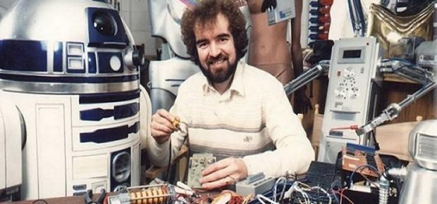 Tony Dyson, que construiu o original R2-D2 de 'Star Wars' (Foto: Divulgação/Site oficial)