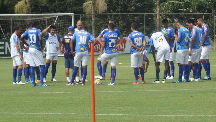 Cruzeiro treino (Foto: Gabriel Duarte)