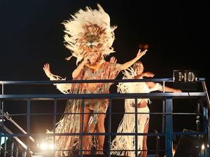 Daniela Mercury na Barra, no Carnaval de Salvador (Foto: Mauro Zaniboni /Ag Haack)
