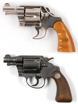 Armas de Bonnie e Clyde foram leiloadas nos EUA (Foto: Divulgação/RR Auctions)