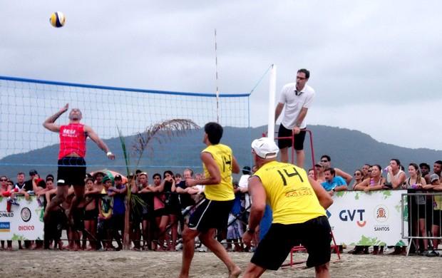 vôlei de praia rodrigão murilo e serginho (Foto: Walmir Lopes / Divulgação)