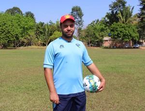 Marcos Cruz, técnico do Rondoniense Sub-16 (Foto: Lívia Costa)