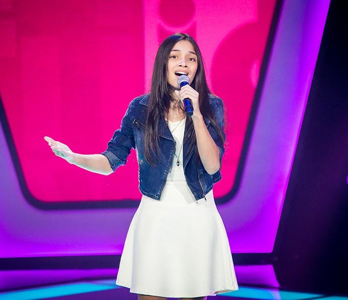 Mayara Cavalcante solta a voz em terceira tarde de Audições (Foto: Isabella Pinheiro/Gshow)