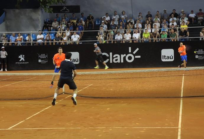 Bruno Soares e Peya, tênis, Rio Open (Foto: José Geraldo Azevedo)