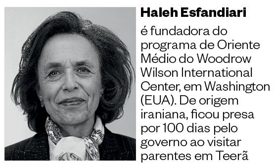 Haleh Esfandiari  (Foto: Divulgação )