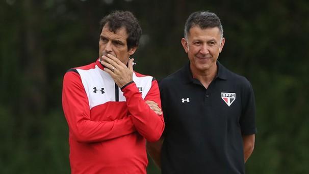 O técnico Osorio tem muitos problemas para resolver no Tricolor Paulista (Foto: Site Oficial São Paulo FC/ Reprodução Globoesporte.com)