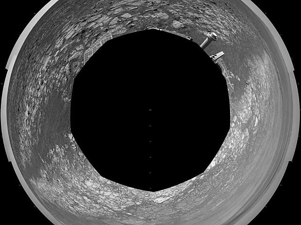 360 graus Marte (Foto: Nasa/JPL-Caltech)