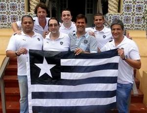 Equipe do botafogo campeão de pôquer (Foto: BFR)