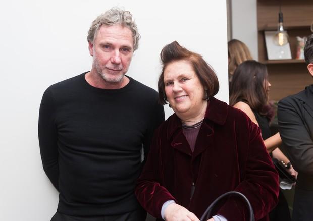 Oskar Metsavaht e Suzy Menkes (Foto: Divulgação)