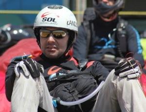 Frank Brown, piloto capixaba de parapente (Foto: Zenilson Rocha/Divulgação)