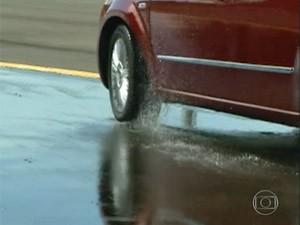 frenagem  (Foto: Reprodução/TV Globo)