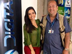Letícia Duarte e Osvaldo (Foto: Divulgação | TV Integração )