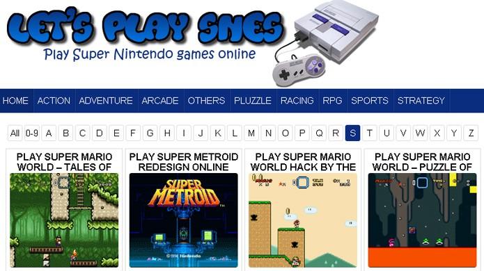 Lets Play Snes oferece mais variedade de jogos em relação ao Game Oldies (Foto: Reprodução/Rafael Monteiro)