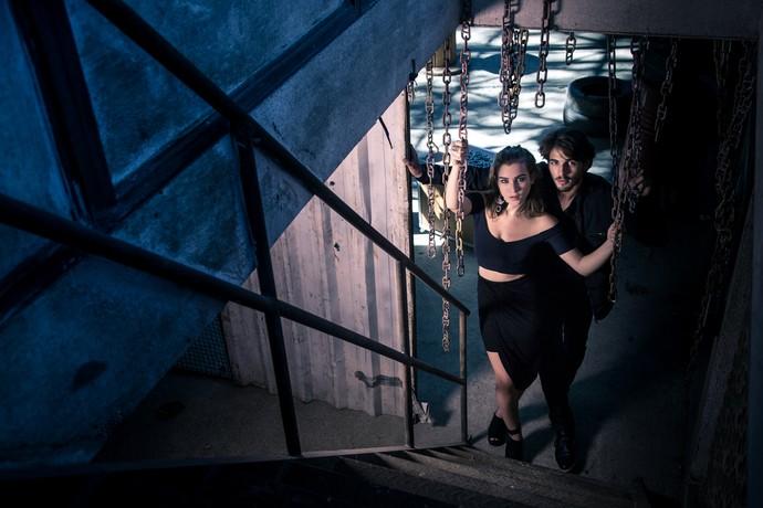 Os personagens da Brenno e Marcela estão fazendo de tudo para separar o casal Ludrigo  (Foto: Fabiano Battaglin/Gshow)