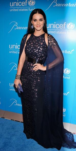 Katy Perry em evento beneficente em Nova York, nos Estados Unidos (Foto: Bryan Bedder/ Getty Images/ Agência)