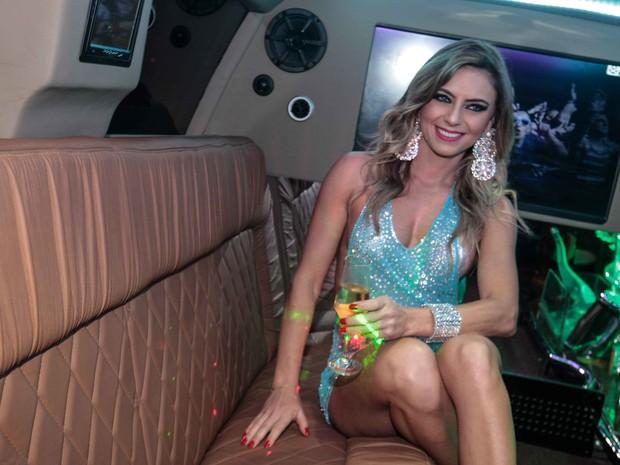 Mariane Ranieri em festa em São Paulo (Foto: Leo Franco/ Ag. News)