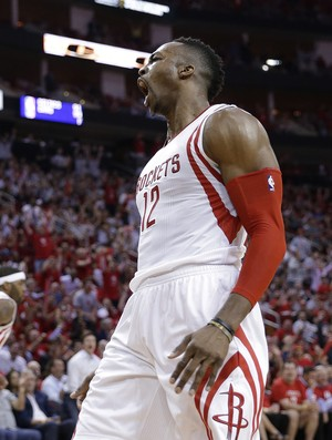 Dwight Howard Rockets x Mavs NBA - AP (Foto: AP)