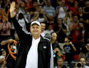 Oscar jogo NBA Bulls e Wizards (Foto: Thiago Lavinas)