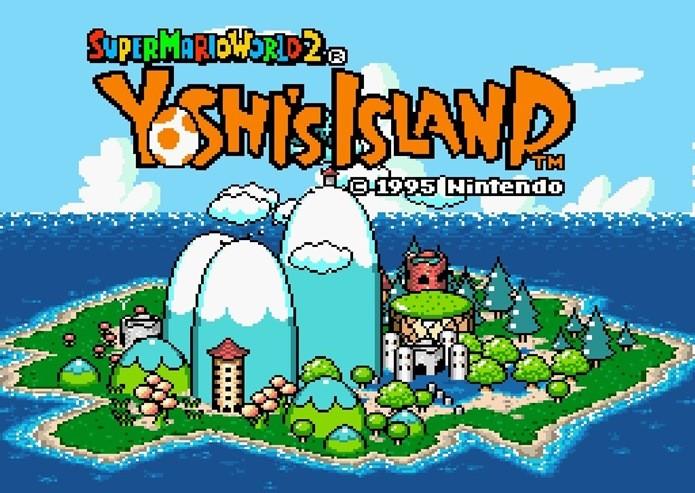 Super Mario World 2: Yoshis Island foi a sequência direta de  Super Mario World (Foto: Reprodução / Dario Coutinho)
