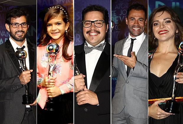 """Vencedores do """"Melhores do Ano' (Foto: Cláudio Andrade / Revista QUEM)"""