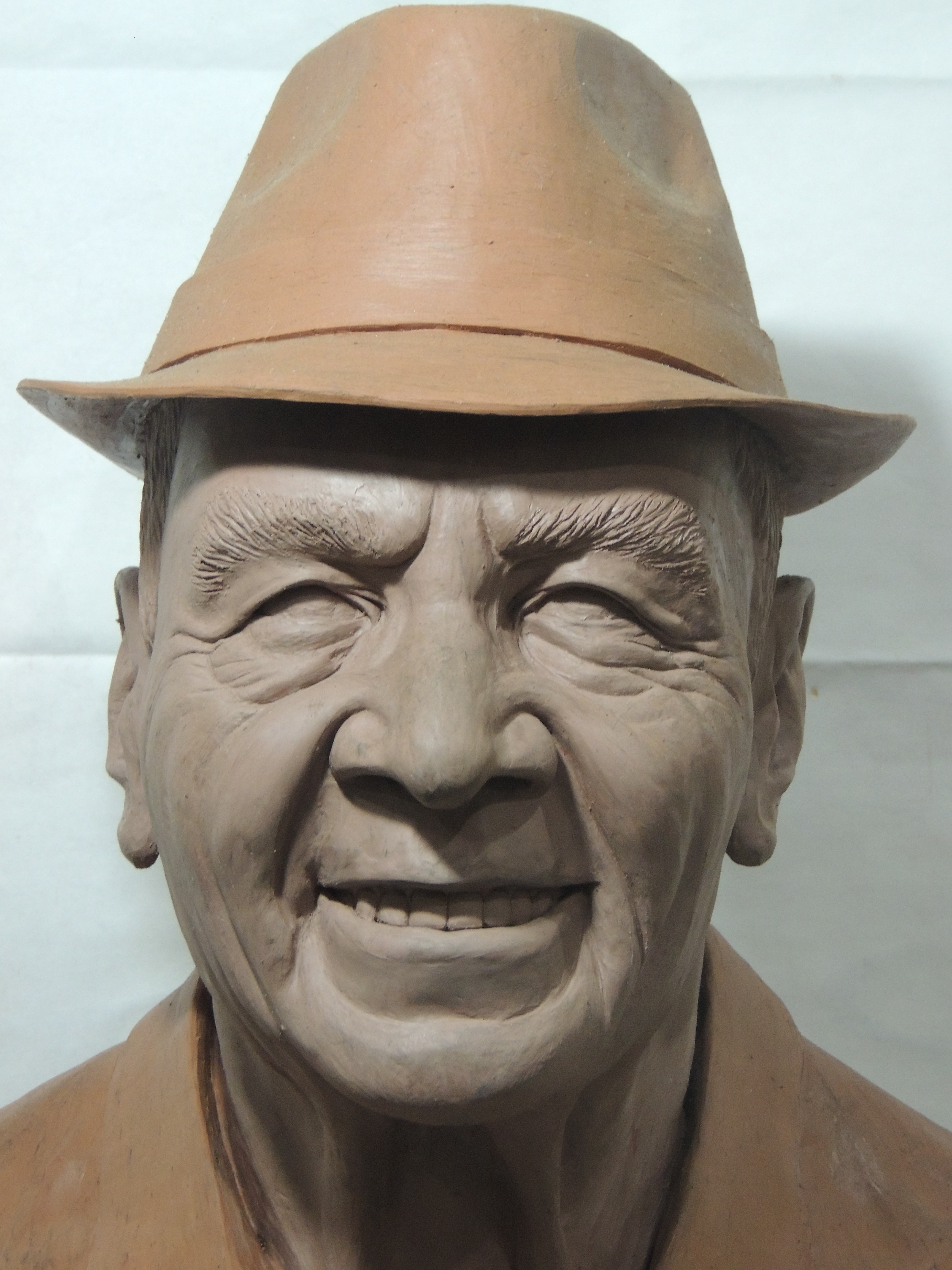c23950b95 Veja como será o busto do compositor Monarco