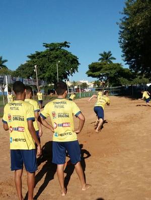 Treino Futsal de Dracena (Foto: Zeca / Dracena, Divulgação)