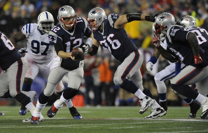 Indianapolis Colts x New England Patriots (Foto: Hartford Courant)