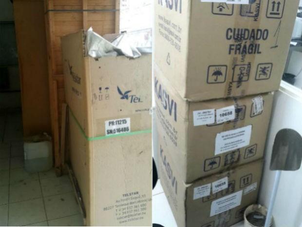 Material comprado em 2014 para a realização de exames de DNA nunca foram usados (Foto: Divulgação/Unacon)