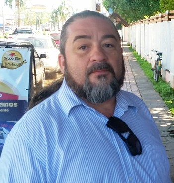 Carlos Painel, consultor de sustentabilidade da CBF (Foto: Duaine Rodrigues)