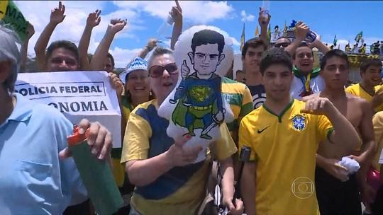 Liberdade de manifestação deve ser respeitada, diz Dilma