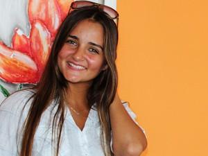 Catarinense tem 20 anos e pretende escrever um livro (Foto: Géssica Valentini/G1)