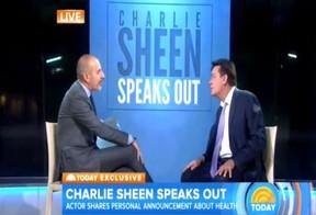 Charlie Sheen (Foto: NBC / Reprodução)