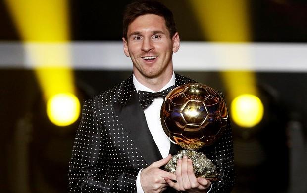 lionel messi bola de ouro premiação melhor do mundo (Foto: Agência Reuters)