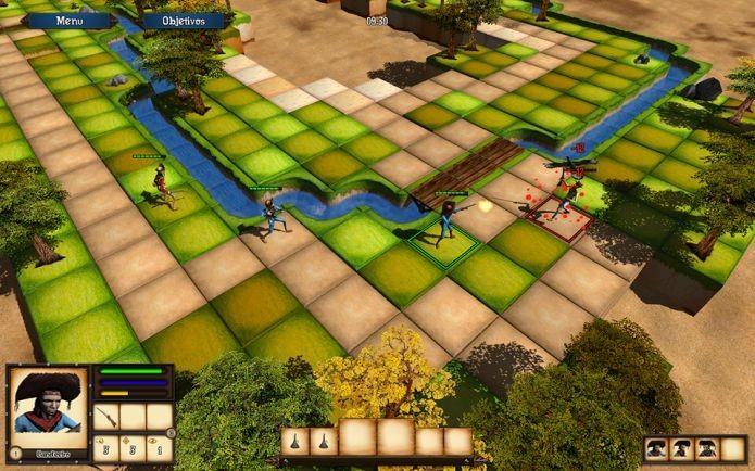 Cangaço transforma a estratégia em um jogo em tempo real (Foto: Divulgação)
