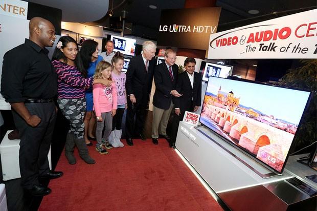 LG começa a vender TV 4K nos EUA (Foto: Divulgação/LG)