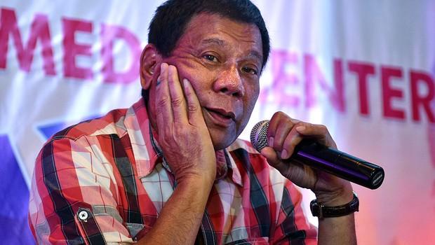 O presidente filipino Rodrigo Duterte (Foto: Jes Aznar/Getty Images)