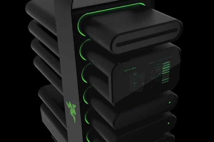 CES 2014: Razer lança PC modular que facilita montagem e upgrade (Foto: Reprodução/BGR) (Foto: CES 2014: Razer lança PC modular que facilita montagem e upgrade (Foto: Reprodução/BGR))