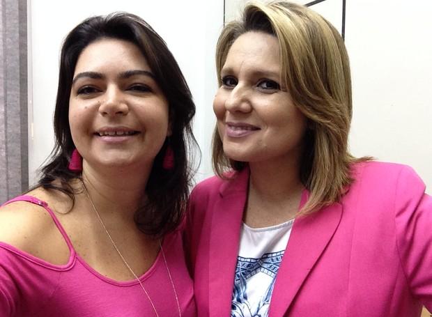 Priscila Martinez e Vanessa Faro: as Penélopes Charmosas (Foto: Arquivo Pessoal)