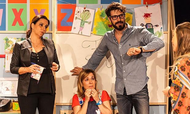 Renata Castro Barbosa, Robson Torinni e Isabel Cavalcanti (Foto: Junior Marins/ Divulgação)