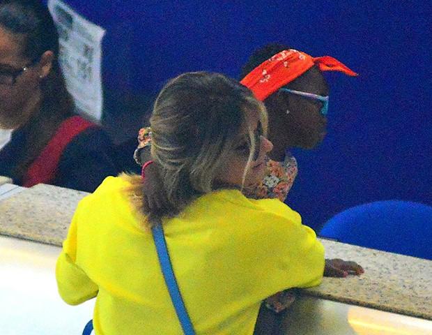 Giovanna Ewbank e Titi (Foto: William Oda/ AgNews)