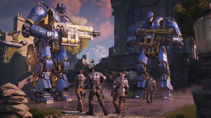 Gears of War 4 conta com cenários mais coloridos (Foto: Divulgação)