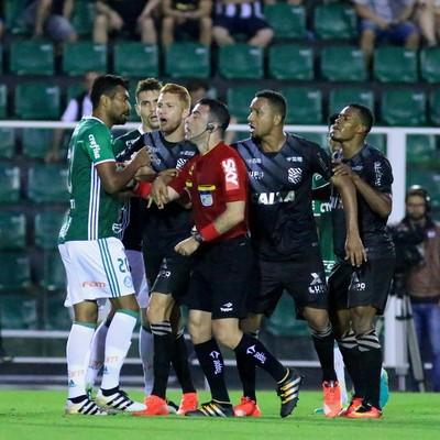 Igor Benevenuto Figueirense x Palmeiras (Foto: Luiz Henrique/Figueirense FC)