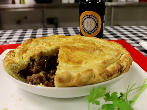 Aussie Meat Pie (Foto: Teresa Klein/ G1)