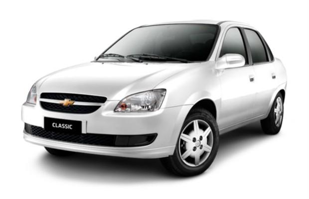 Chevrolet Classic 2015 (Foto: Divulgação)