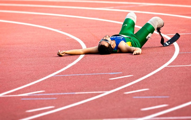 Alan Fonteles Mundial de Atletismo de Lyon (Foto: Marcio Rodrigues / Mpix / Cpb)
