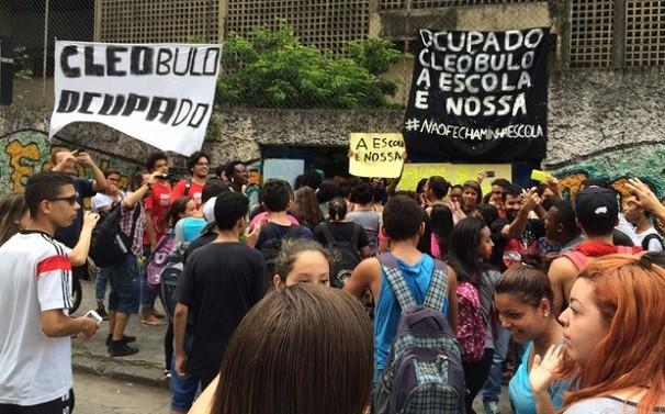 Reintegração da escola estadual Cleóbulo Amazonas Duarte deve ocorrer nesta segunda (Foto:  Solange Freitas)