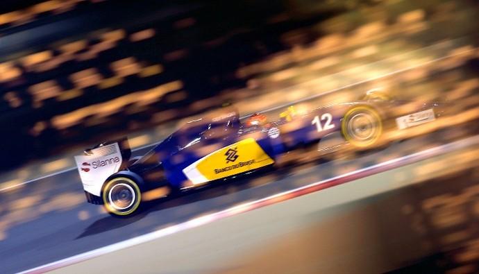 Felipe Nasr treino Bahrein Sauber (Foto: Getty Images)
