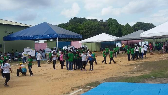 """""""Transforma"""" aconteceu no abrigo Moacyr Alves, em Manaus (Foto: Divuglação/Secom)"""